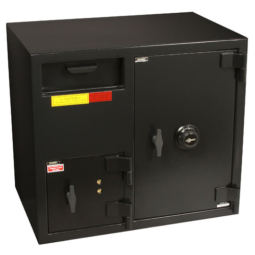 """American Security DSF2731 """"B"""" Rated Rotary Front Load Depository Safe-674"""