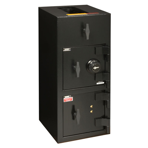 "American Security DST3214 ""B"" Rated Rotary Top Load Depository Safe-678"