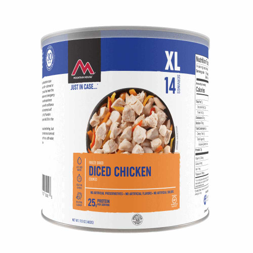 Mountain House Diced Chicken #10 Can (Case of 6)