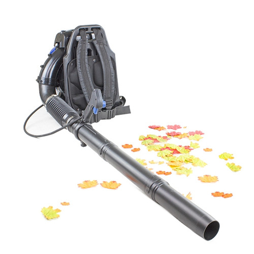 Strong and reliable petrol backpack leaf blower.