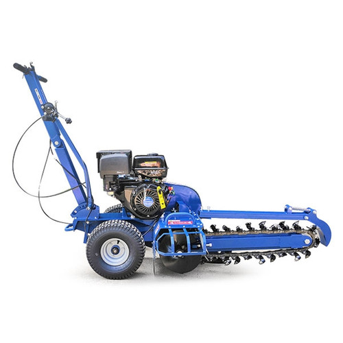 Hyundai 420cc/14hp Petrol Trencher | HYTR150 - The HYTR150 is an extremely powerful petrol trencher from Hyundai, powered by the IC420 420cc / 14hp 4-stroke Hyundai engine, the HYTR150 is capable of digging trenches 600mm deep quickly, efficiently and safely. Free UK shipping, excellent customer service, backed up by the Hyundai world renowned reputation, excellent warranty terms, great customer feedback. Great Prices.