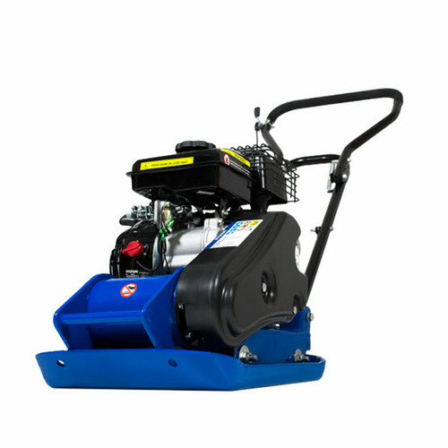 Hyundai HYCP5030 87cc Petrol Plate Compactor / Wacker Plate with Wheel Kit and Paving Pad.  3 Year Platinum Warranty. Free UK shipping, excellent customer service, backed up by the Hyundai world renowned reputation, excellent warranty terms, great customer feedback. Great Prices.