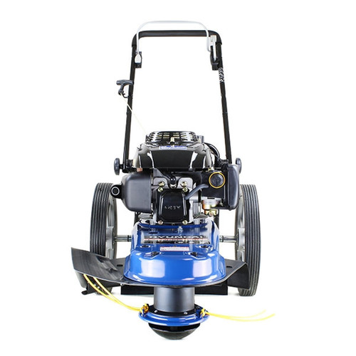 The HYFT56 field trimmer, with its large diameter heavy-duty wheels, provides a cost-effective, productive, and simple-to-use alternative.