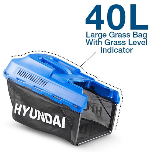 The Hyundai HYM3800E Electric Lawn Moweris a lightweight, budget-friendly mower with a 1600w motor that is suited for small to medium-sized gardens and lawns up to 225m2.