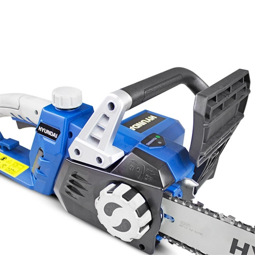 """14-Inch Cutting Bar With a cutting bar length of 14"""" (35cm) and a weight of only 3.9kg, the HYC1600E is ideal for home usage and may be used both inside and outdoors due to the absence of fumes."""