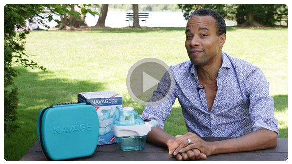 Marcus Nance's Video Testimonial of Navage Nasal Care