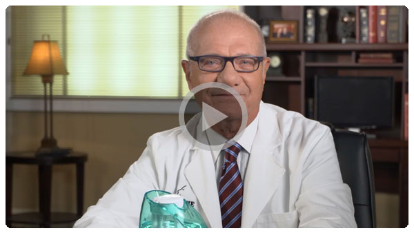 Doctor Levine on Saline Nasal Irrigation Video