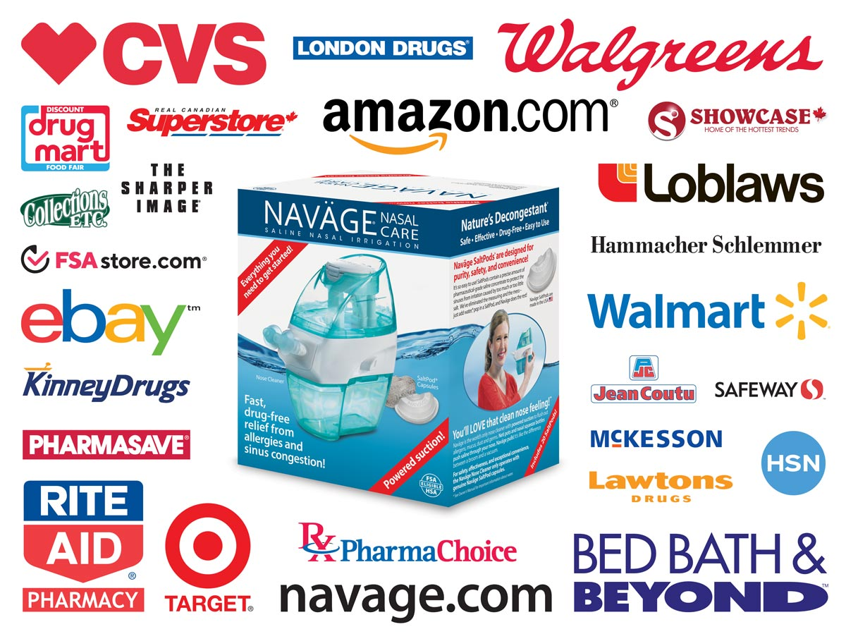 Navage Retail Store Locations