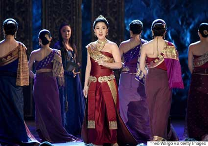 Navage Nasal Care Ambassador Ruthie Ann Miles performing in the King and I