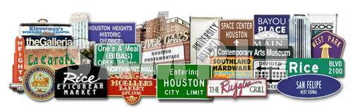houston landmarks and icons 3d art gallery houston texas art artists sculpture carl walker crum texas photomontage