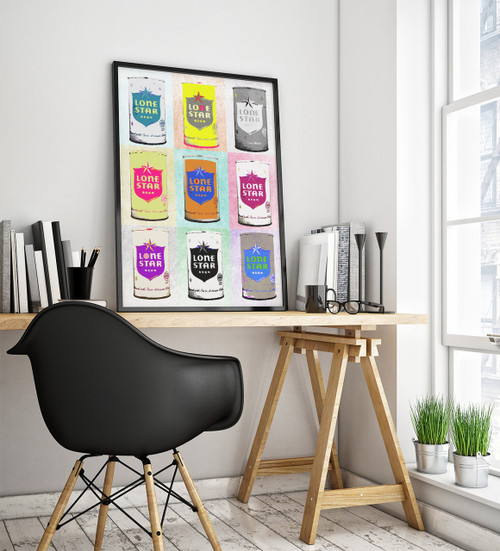 Lone Star Beer | Pop Art Print | Sort of Cool