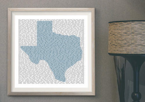 texas towns, texas towns art, kennard, fort worth skyline, lufkin art, nacogdoches art, lufkin mall, nacogdoches mall, gift store nac, gift store lufkin, how many towns are in texas, small town texas, blue art, art for guys, boyfriend gift, texas man gift, gift for a guy from texas, gift for a girl from texas, what is bucees, bucees gifts, texas gifts