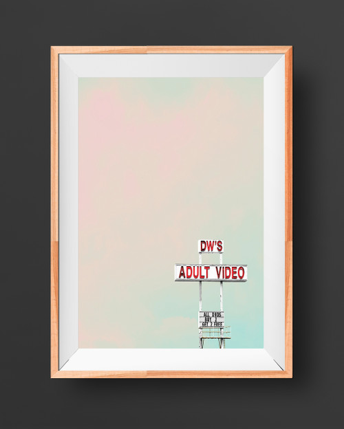 DW's,DW's, Dws, denton art, playboy art, mancave art, man art, live colorfully, pink art, naughty art, nude art, subversive art, modern art, texas art, denton gift, denton gift store, adult video, funny art