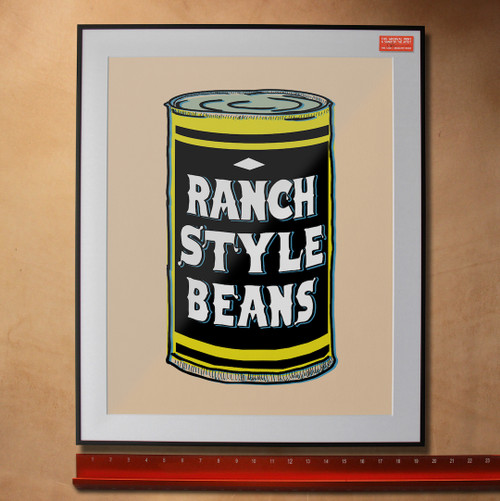 ranch style beans, ranch style beans art, ranch style beans pop art, andy warhol, fort worth, made in fort worth, fort worth artist, campbell soup can, fort worth pop artist, sort of cool art, cool art, texas art,  ranch style beans recipe, ranch style beans can, fort worth locals, local artist, local art,  betsy crum, carl crum, elisabeth crum, betsy crum sort of cool art, sort of cool artist fort worth, sort of cool fort worth, cool art fort worth, foodie gift, fort worth foodie gift, fort worth foodie, made in fort worth, texas art, texas gift, funny texas gift, bean lover gift, southwest gift, southern girl gift, betsy crum, sort of cool art, cool art, cool texas art, fort worth gallery, artspace 111, fort worth painting, fort worth artists, fort worth art festival, art festival fort worth