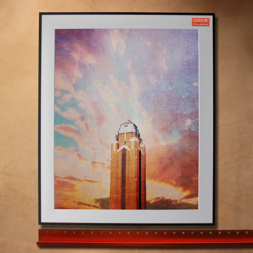 Will Rogers Memorial Coliseum | Fort Worth Texas Sky Art Print