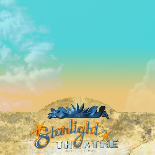 Starlight theatre, starlight theater, big bend art, terlingua art, marfa art, west texas art, west texas sky print, west texas print, big bend print, carl crum, betsy crum, sort of cool art, fort worth texas artists. terlingua starlight, starlight terlingua,