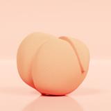 peach margarita 3D printed