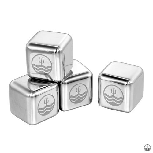 Poseidn Metal ice cubes