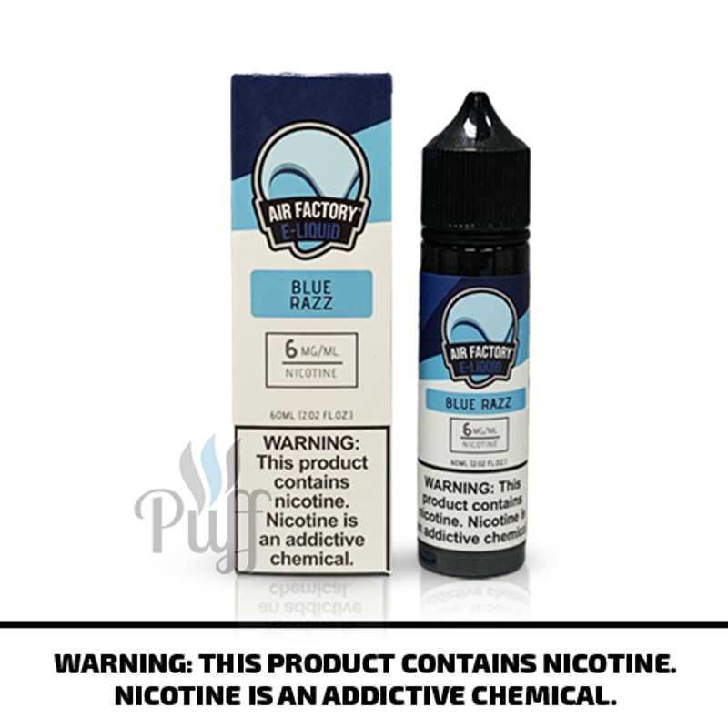 Air Factory E-Liquid Blue Razz 60ml