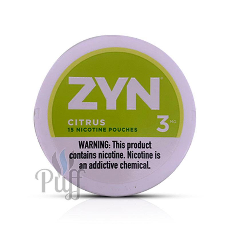 Zyn Nicotine Pouch 3mg Citrus