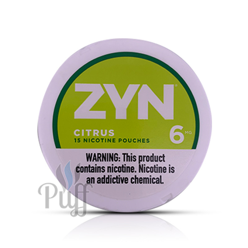 Zyn Nicotine Pouch 6mg Citrus