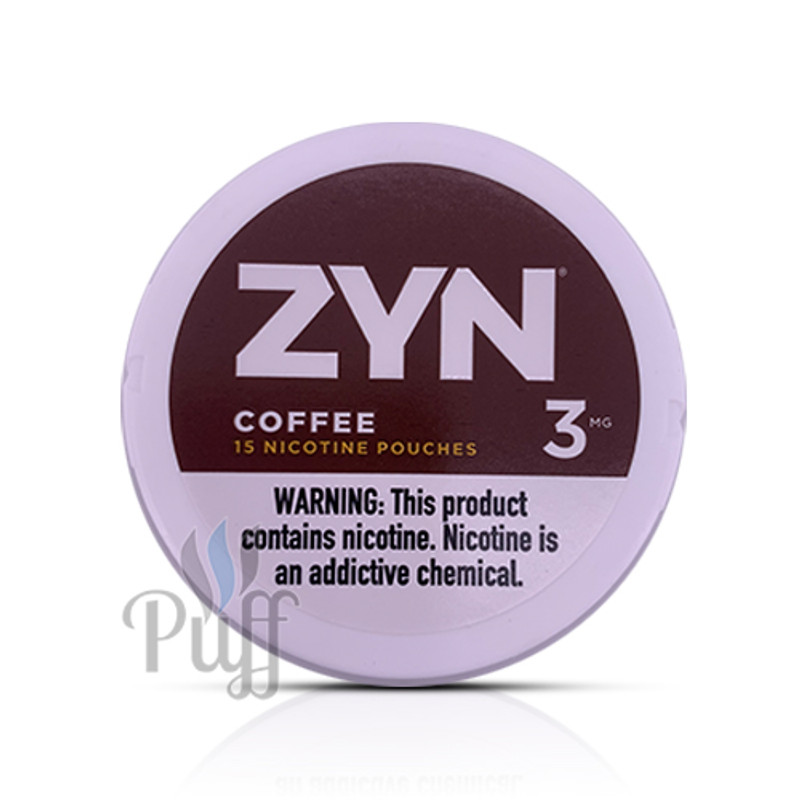 Zyn Nicotine Pouch 3mg Coffee