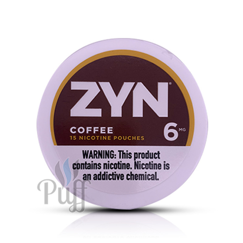 Zyn Nicotine Pouch 6mg Coffee