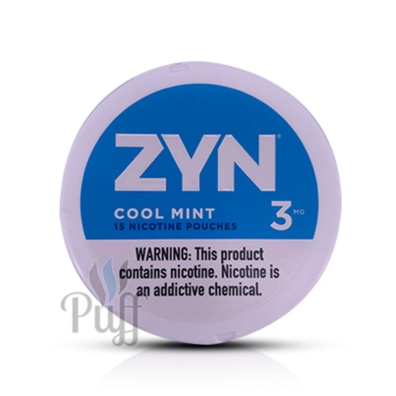 Zyn Nicotine Pouch 3mg Cool Mint