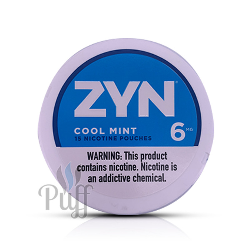Zyn Nicotine Pouch 6mg Cool Mint