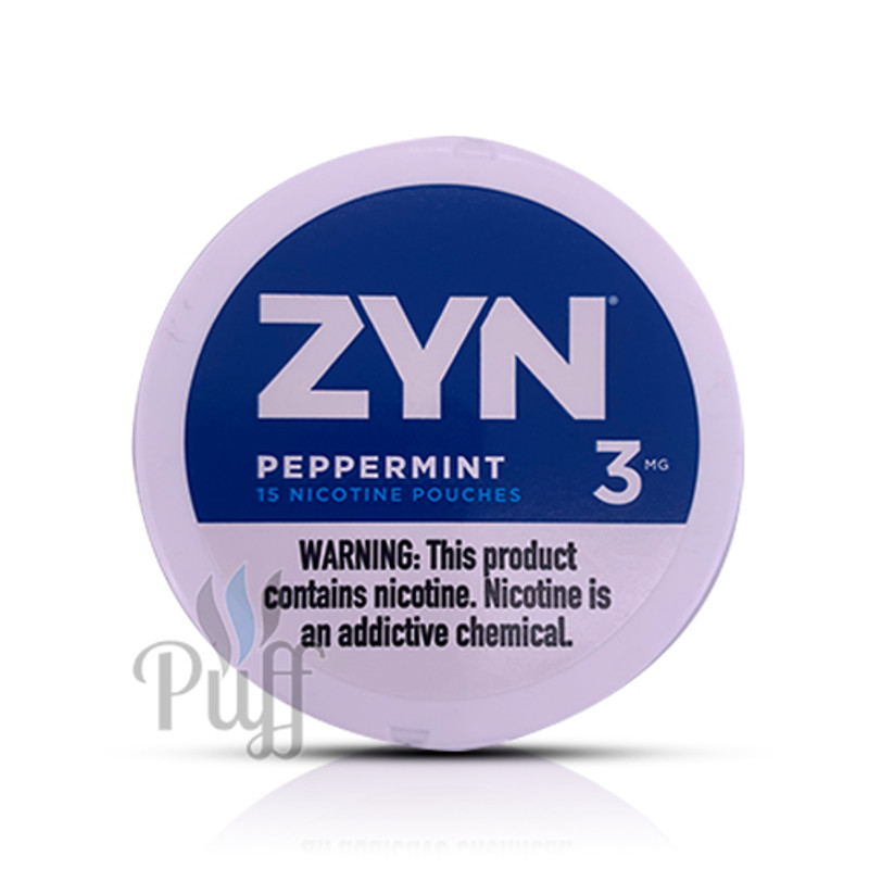 Zyn Nicotine Pouch 3mg Peppermint
