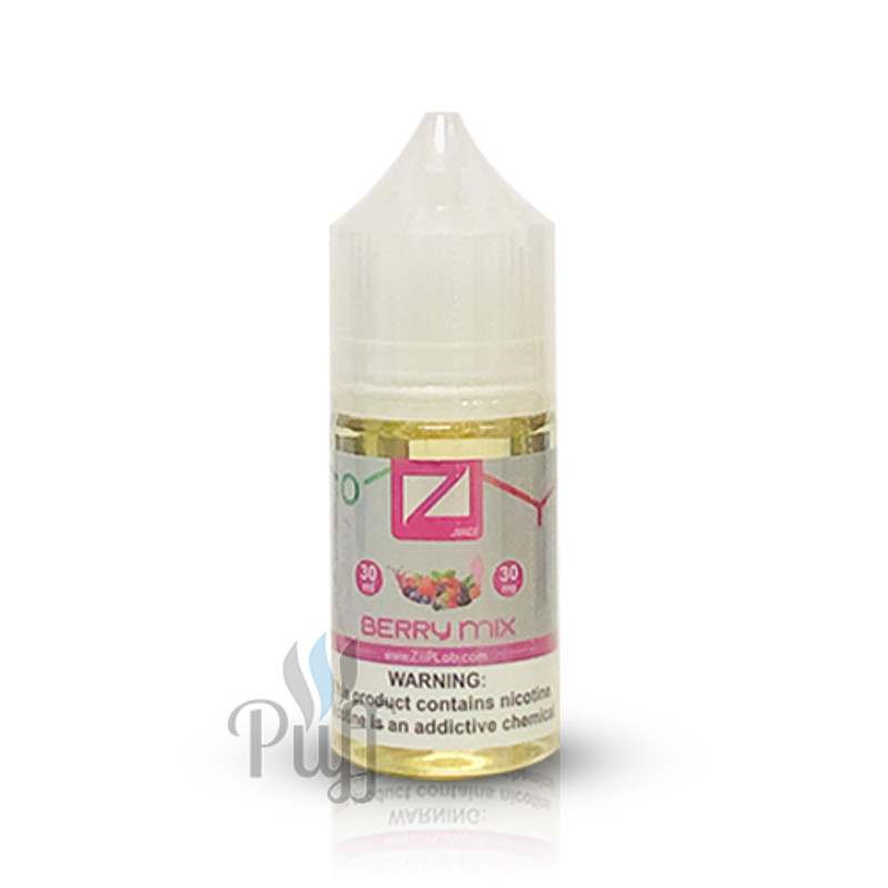 Ziip Lab Nicotine Salt E-Liquid Berry Mix 30ml