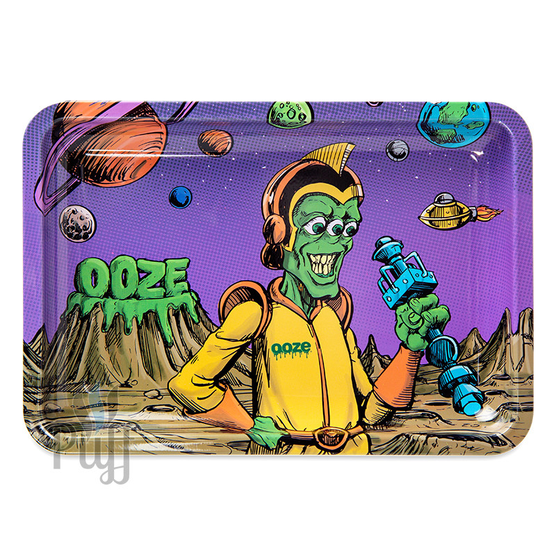 Ooze Metal Rolling Trays - Invasion