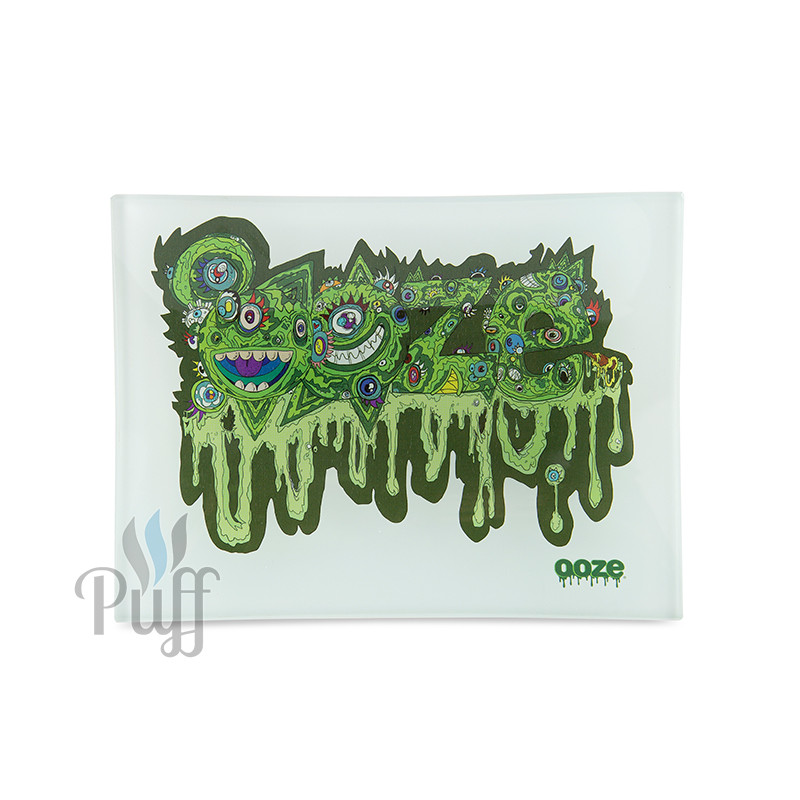 Ooze Shatter Resistant Glass Rolling Trays - Oozemosis