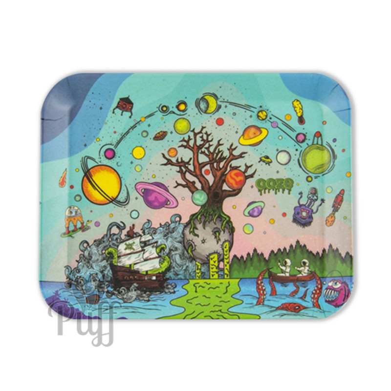 Ooze Biodegradable Rolling Trays - Tree Of Life