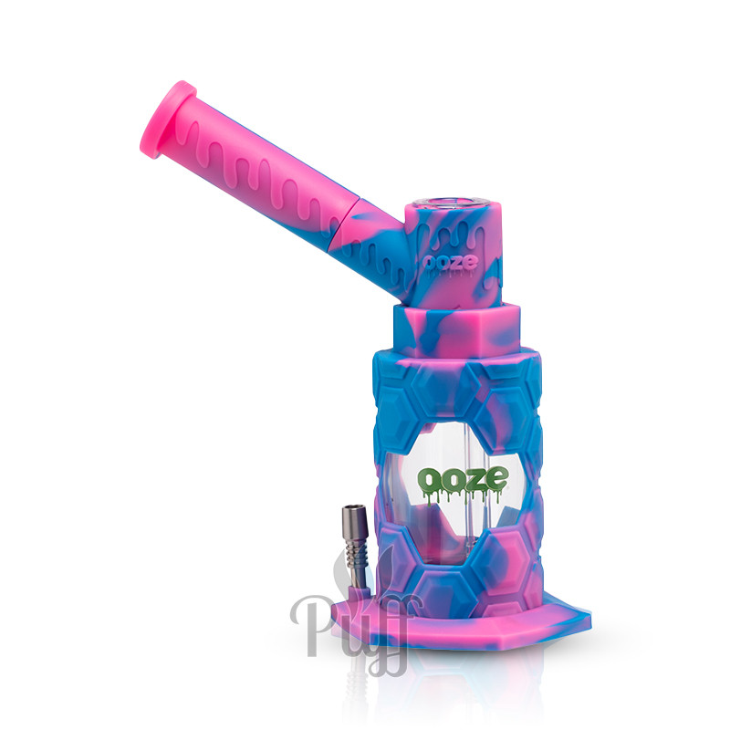 Ooze Mojo Silicone Water Pipe & Nectar Collector - Pixie Dream