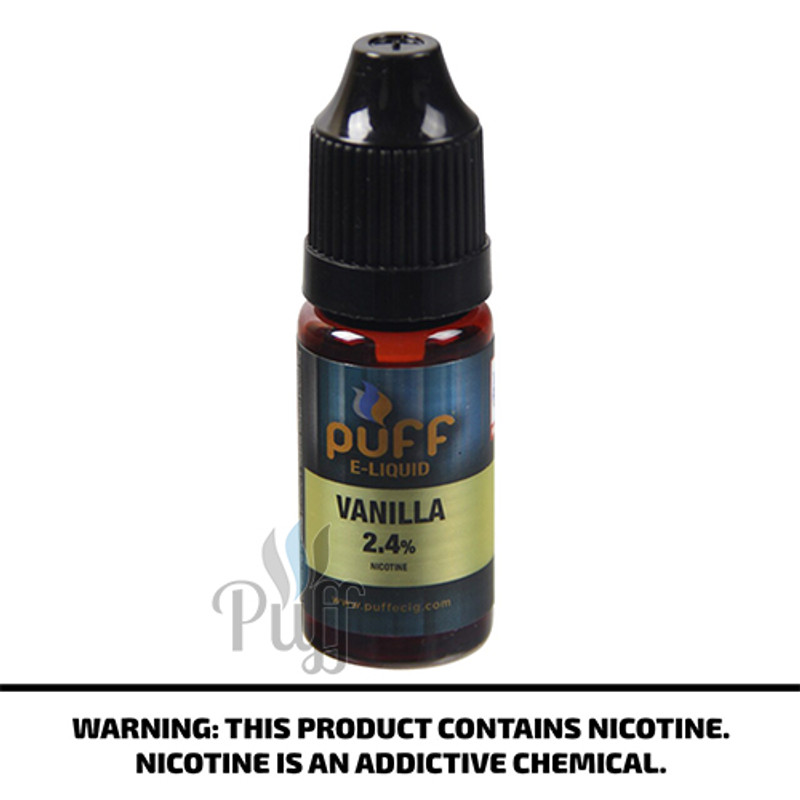 Puff Vanilla E-Liquid 10ML