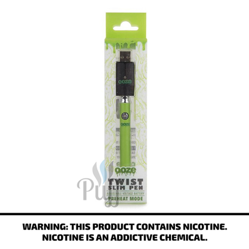 Ooze Slim Pen Twist - Green