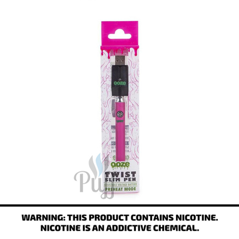 Ooze Slim Pen Twist - Pink