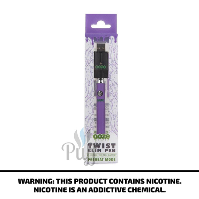 Ooze Slim Pen Twist - Purple