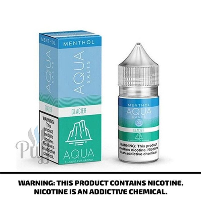 Aqua Salts Menthol E-Liquid Glacier Ice 30ml