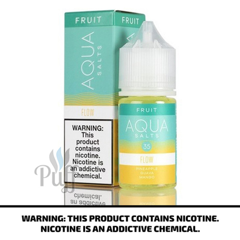 Aqua Salts Fruit E-Liquid Flow 30ml