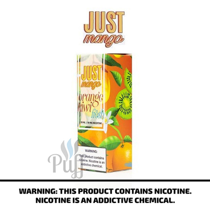 Just Mango Salt Fresh Orange Kiwi 30ml