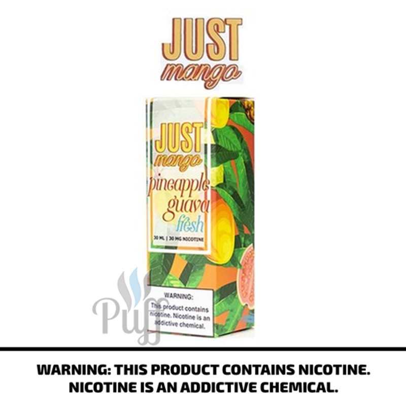 Just Mango Salt Fresh Pineapple Guava 30ml