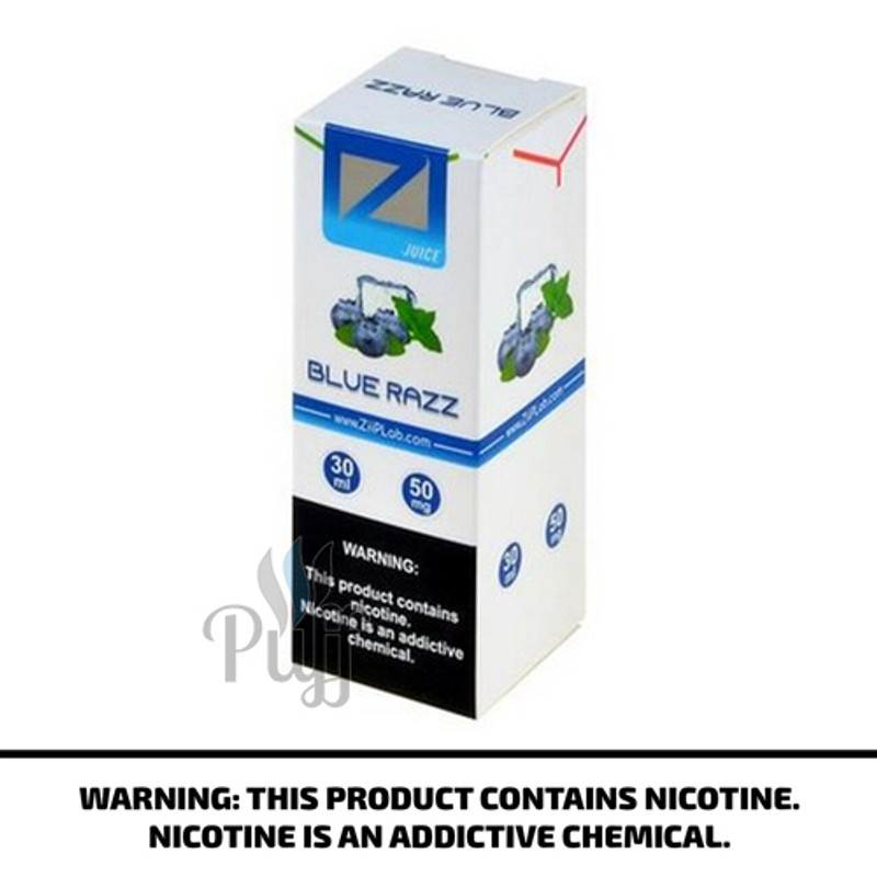 Ziip Lab Nicotine Salt E-Liquid Blue Razz 30ml