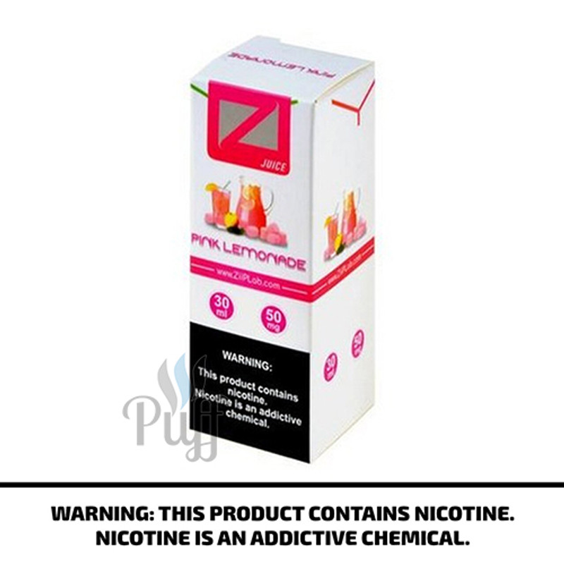 Ziip Lab Nicotine Salt E-Liquid Pink Lemonade 30ml
