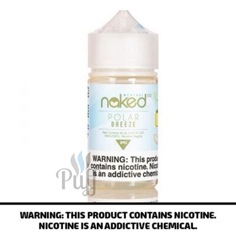 Naked 100 Menthol E-Liquid Melon/Polar Breeze 60ml