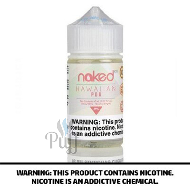 Naked 100 E-Liquid Hawaiian Pog 60ml