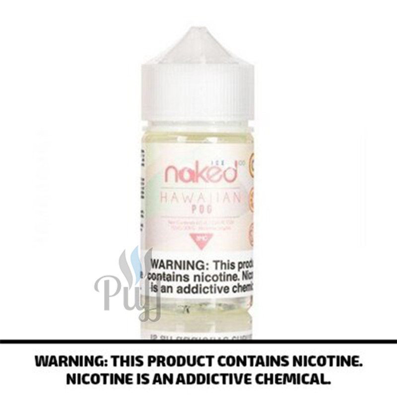 Naked 100 Ice E-Liquid Hawaiian Pog Ice 60ml