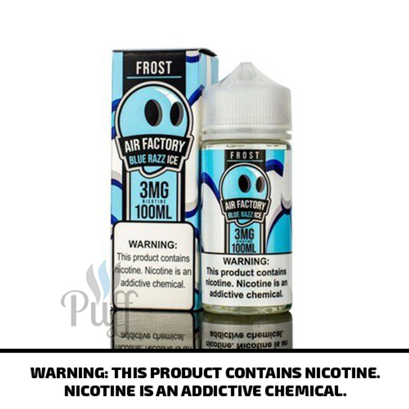 Air Factory Frost Blue Razz Ice 100ml