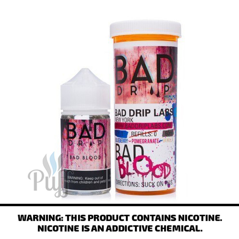 Bad Drip E-Liquid Bad Blood 60ml